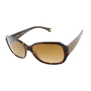 Coach Women's HC 8011BM Stacia 5001T5 Polarized Sunglasses