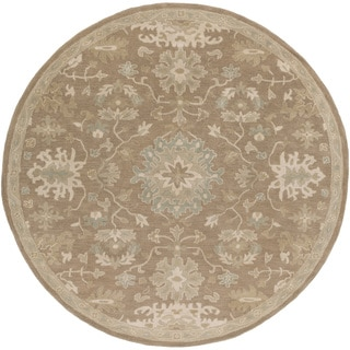 Hand-tufted Nolan Traditional Wool Rug (9'9 Round)