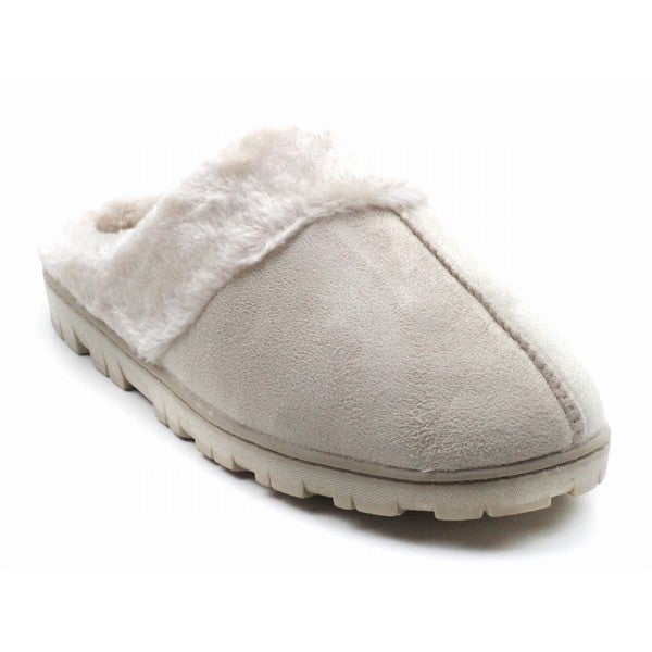 Blue Women's Suede Yola Slippers
