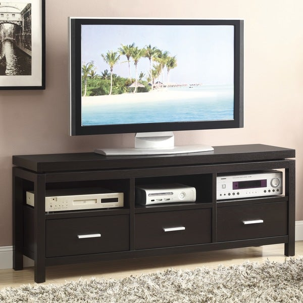 Coaster Company Cappuccino 3-drawer TV Console 14481475
