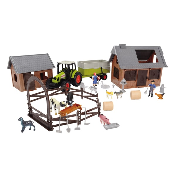 Dickie Toys 72-Piece Farm Set 14481529