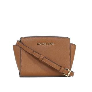 MICHAEL Michael Kors Selma Saffiano Leather Mini Messenger