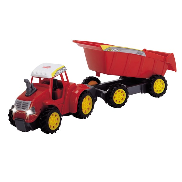 Dickie Toys Red Farm Tractor