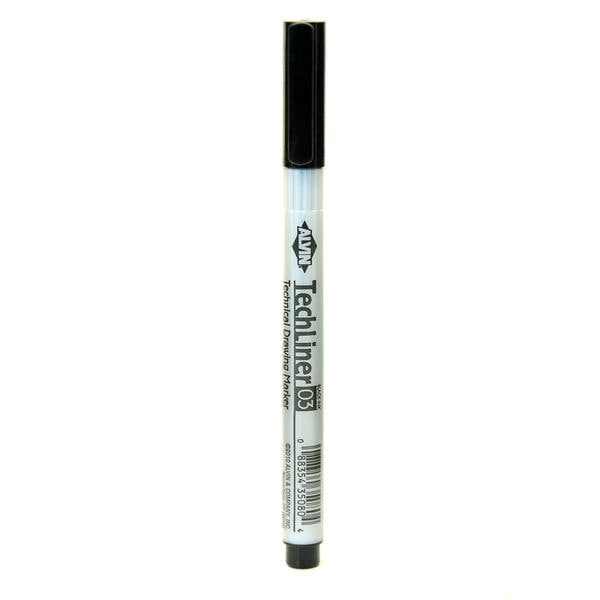 Alvin Tech-Liner Superpoint Drawing Pen/Marker