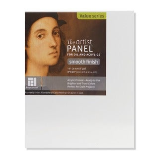 Ampersand The Artist Panel Primed Smooth Flat Profile