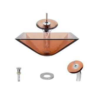 MR Direct 603 Coral Chrome Bathroom Ensemble