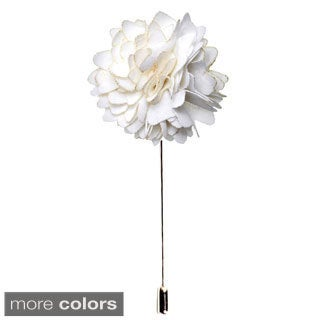 Men's Handmade Formal Lapel Flower Pin