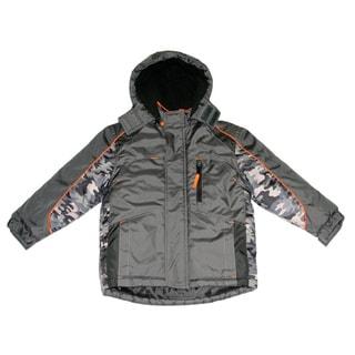 Norhtpoint Toddler Boys Iron Grey Fashion Jacket