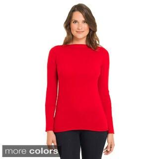 Premise Women's Cashmere Exposed Seam Pullover