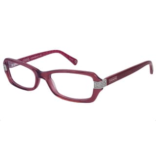 Coach Women's Marjorie Rectangular Reading Glasses