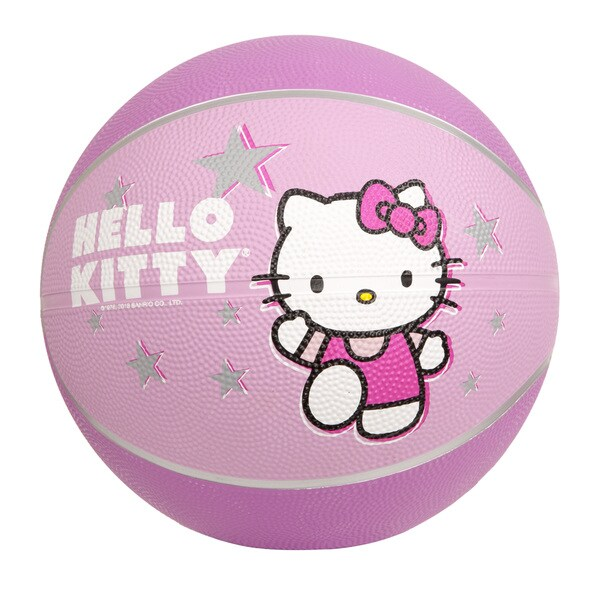 Hello Kitty 7-inch Pink Mini Basketball