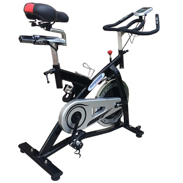 ActionLine A84016 Indoor Belt Drive Exercise Bike with Computer