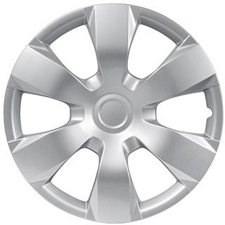 BDK Universal Fit 16-inch 4-piece Durable ABS Silver Hubcap Set (Toyota Camry Style)