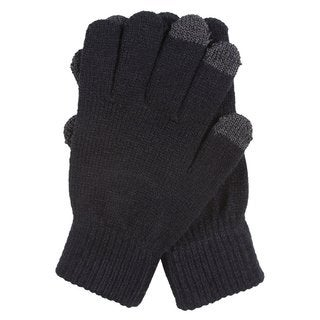 KC Signatures Women's Smartouch Touchscreen Compatible Stretch Gloves