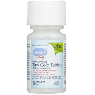 Hyland's Baby Tiny Cold Tablets (125 Count)