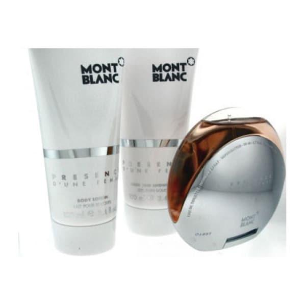 Mont Blanc Presence D'Une Femme Women's 3-piece Fragrance Set