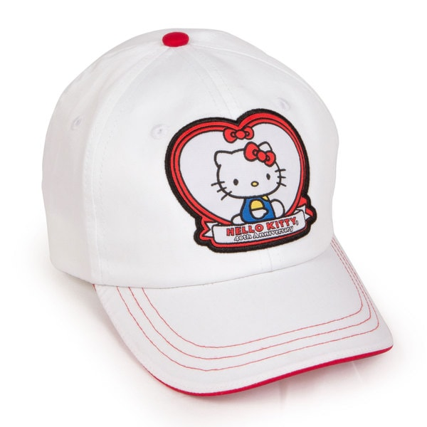 Hello Kitty Junior White 40th Anniversary Hat