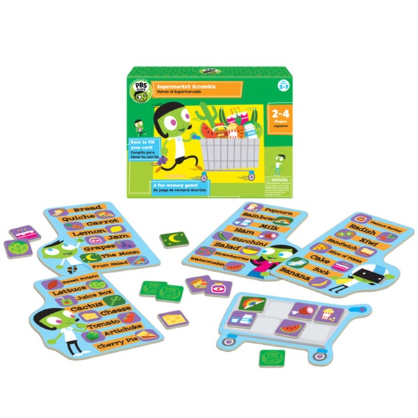 PBS Kids Supermarket Scramble Game