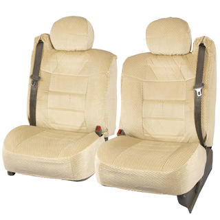 BDK Scottsdale Ford Beige Front Truck Seat Covers