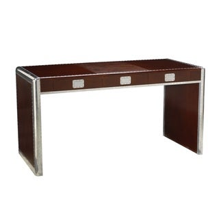 French Heritage Ferault Cherry Wood Office Desk