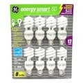 GE 13-Watt Energy Smart Soft White Spiral Bulbs