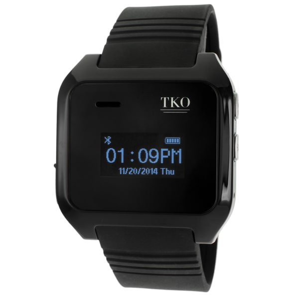 TKO TK9000 Black Bluetooth Call/ Text IOS/ Andriod Smartwatch