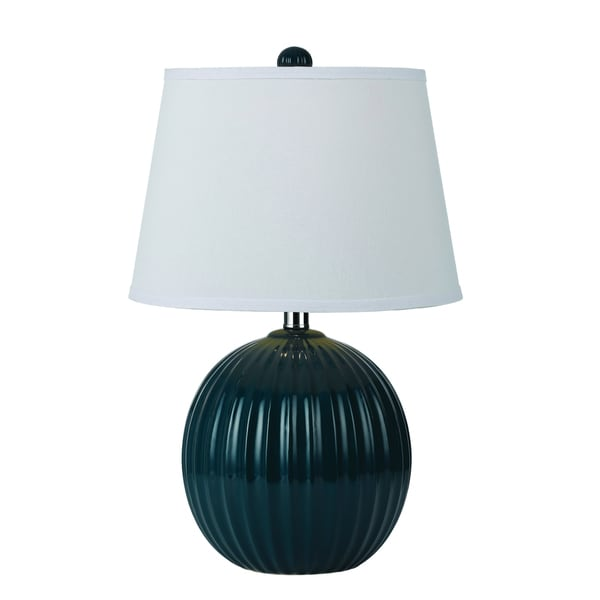 angelo:HOME Blue Bleeker Park Ceramic Accent Lamp 14483984