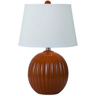 angelo:HOME Orange Bleeker Park Ceramic Accent Lamp
