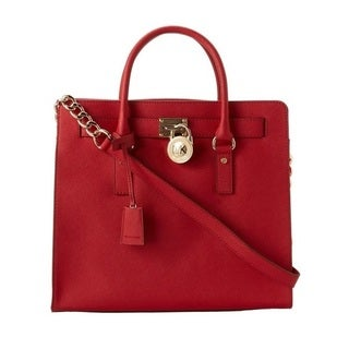 MICHAEL Michael Kors Hamilton Large Saffiano Leather Tote