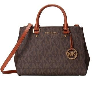 MICHAEL Michael Kors Sutton Medium Logo Satchel Bag