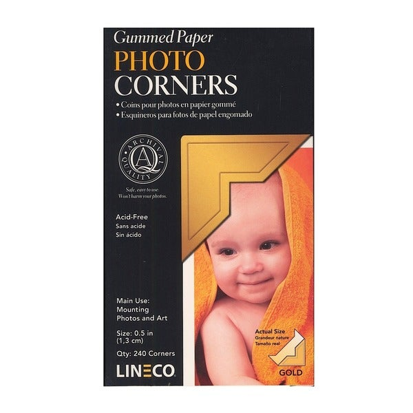 Lineco Infinity Paper Photo Corners