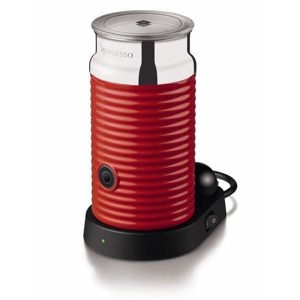 Nespresso Aeroccino3 3594 Milk Frother - Red