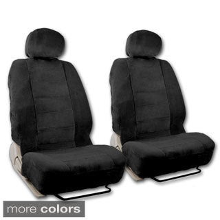 BDK Universal Fit 4-piece Encore Fabric Low Back Deluxe Front Car Seat Covers