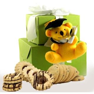 Happy Graduation Gluten-free Yellow Bear Gift Tower