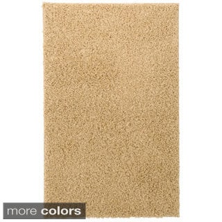 Vista Neutral Color Nylon Shag Rug (2' x 3')