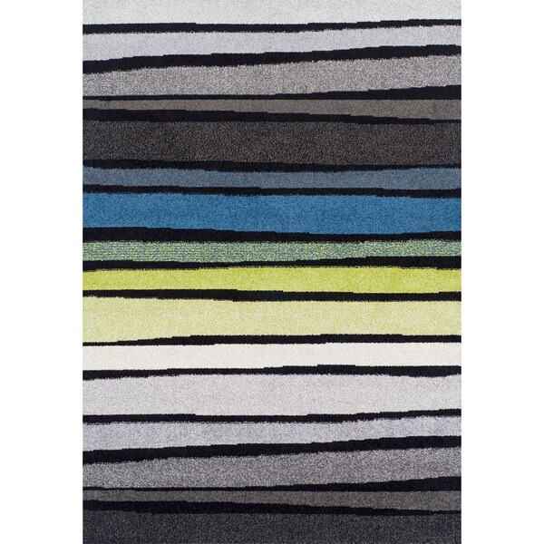 Flair Gradient Multi Color Transitional Rug (4'11 x 5'1)