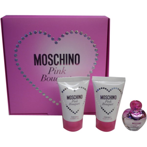 Moschino Pink Bouquet 3-piece Gift Set