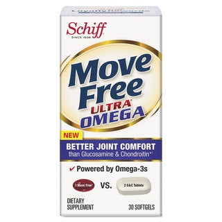 Move Free Ultra Omega Joint Comfort Softgels 30 Count