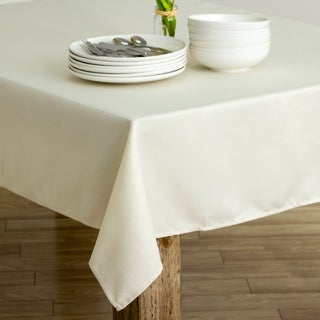 Climbing Vine Ivory Heavyweight Spill-proof Tablecloth