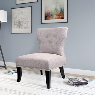 CorLiving Antonio Lounge Chair in Woven Grey