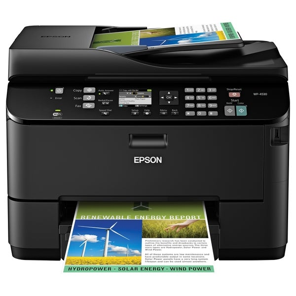 Epson WorkForce Pro WP-4530 Inkjet Multifunction Printer - Refurbishe