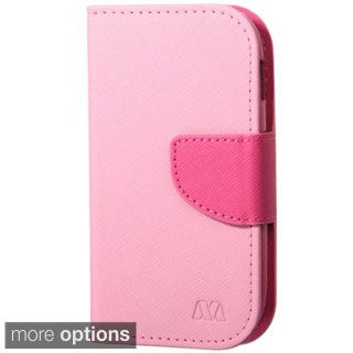 INSTEN Premium Folio Flip Leather Stand Wallet Phone Case Cover For Samsung Galaxy Light SGH-T399