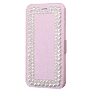 INSTEN Premium Folio Flip Leather Stand Wallet Phone Case Cover For Apple iPhone 6 Plus