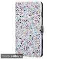 INSTEN Stand Folio Flip Diamond Bling Leather Wallet Phone Case Cover For Apple iPhone 6 Plus