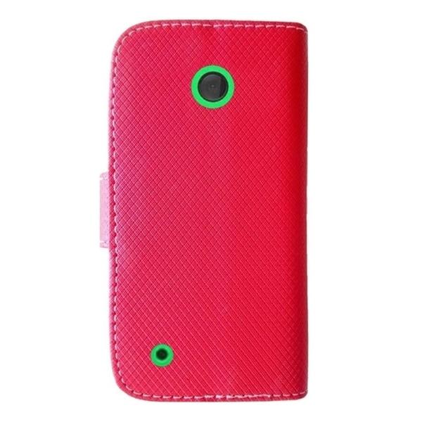 INSTEN Premium Folio Flip Leather Stand Wallet Phone Case Cover For Nokia Lumia 530