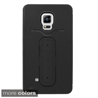 INSTEN Dual Layer Hybrid Stand Rubber Silicone/ PC Card Slot Phone Case Cover For Samsung Galaxy Note Edge