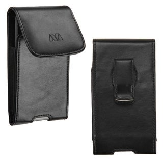 MYBAT Black 360-degree Swivel Large Universal Vertical Pouch Wallet With Magnetic Flip For 5.1x2.67x0.52-inch Size