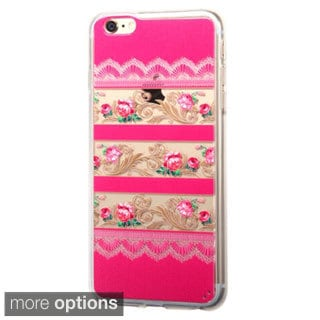 INSTEN Crocodile Skin TPU Rubber Candy Snap-On Phone Case Cover For Apple iPhone 6 Plus/ 6+