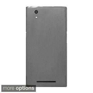 INSTEN Plain Frosted TPU Rubber Candy Skin Ultra-Slim Snap-On Phone Case Cover For ZTE ZMax