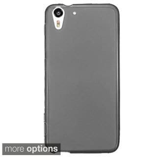 INSTEN Plain Frosted TPU Rubber Candy Skin Ultra-Slim Snap-On Phone Case Cover For HTC Desire Eye
